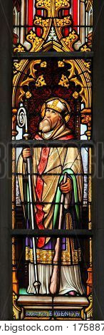 Stained Glass - Saint Eugenius Of Carthage