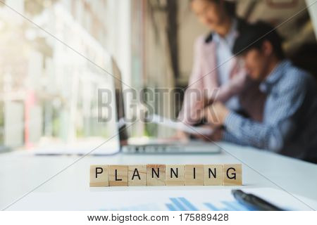 Business Plan Growth Concept.