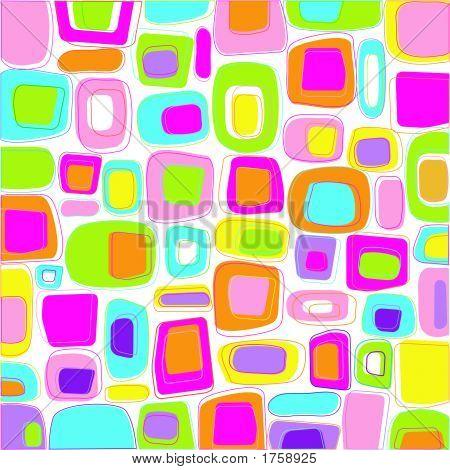 Retro Styled Squares