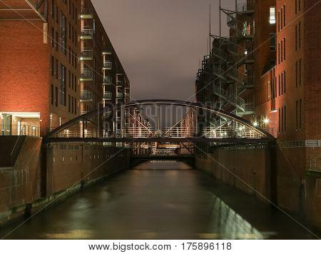 The Kehrwieder Bridge In Hamburg