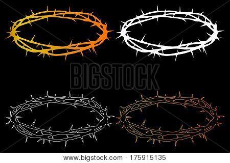 crown of thorns , Jesus Christ's - crown