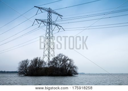 Transmission Power Tower, Electricity Pylon