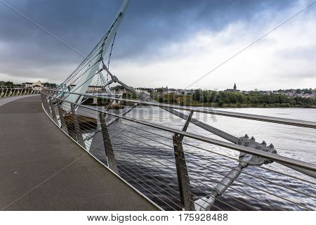 The Peace Bridge, Londonderry, Northern Ireland