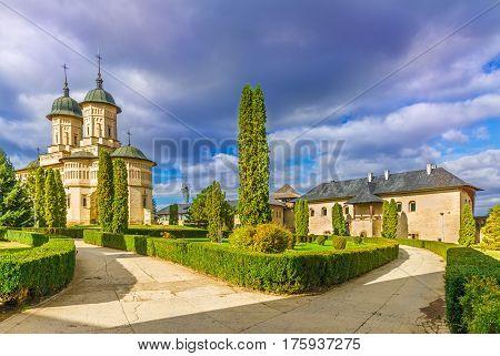 Cetatuia monastery in Iasi town Moldavia Romania