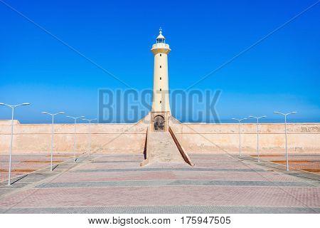 Lighthouse In Rabat