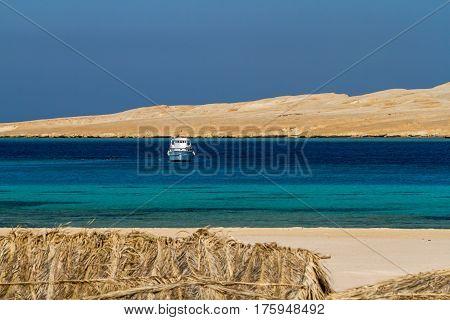 Dreamlike beauty of a tropical island in Red Sea