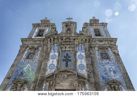Church of Saint Ildefonso (Igreja de Santo Ildefonso) is an eighteenth-century church in Porto Portugal