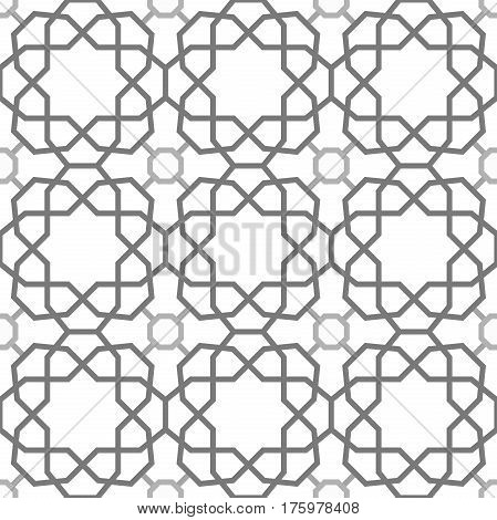 Seamless light pattern for your designs and backgrpounds. Modern geometric ornament