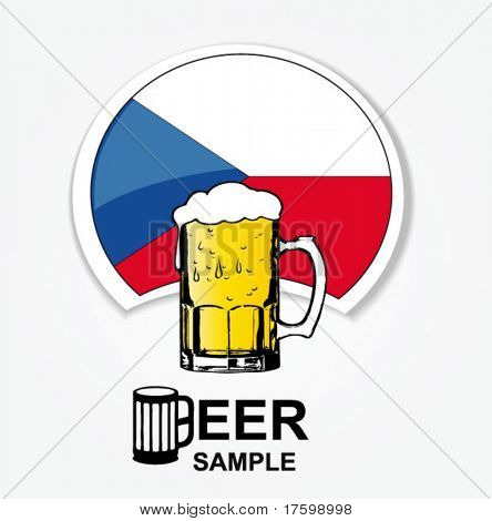 czech national beer web element