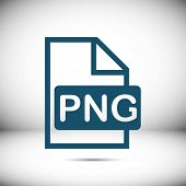 PNG icon stock vector illustration flat design poster