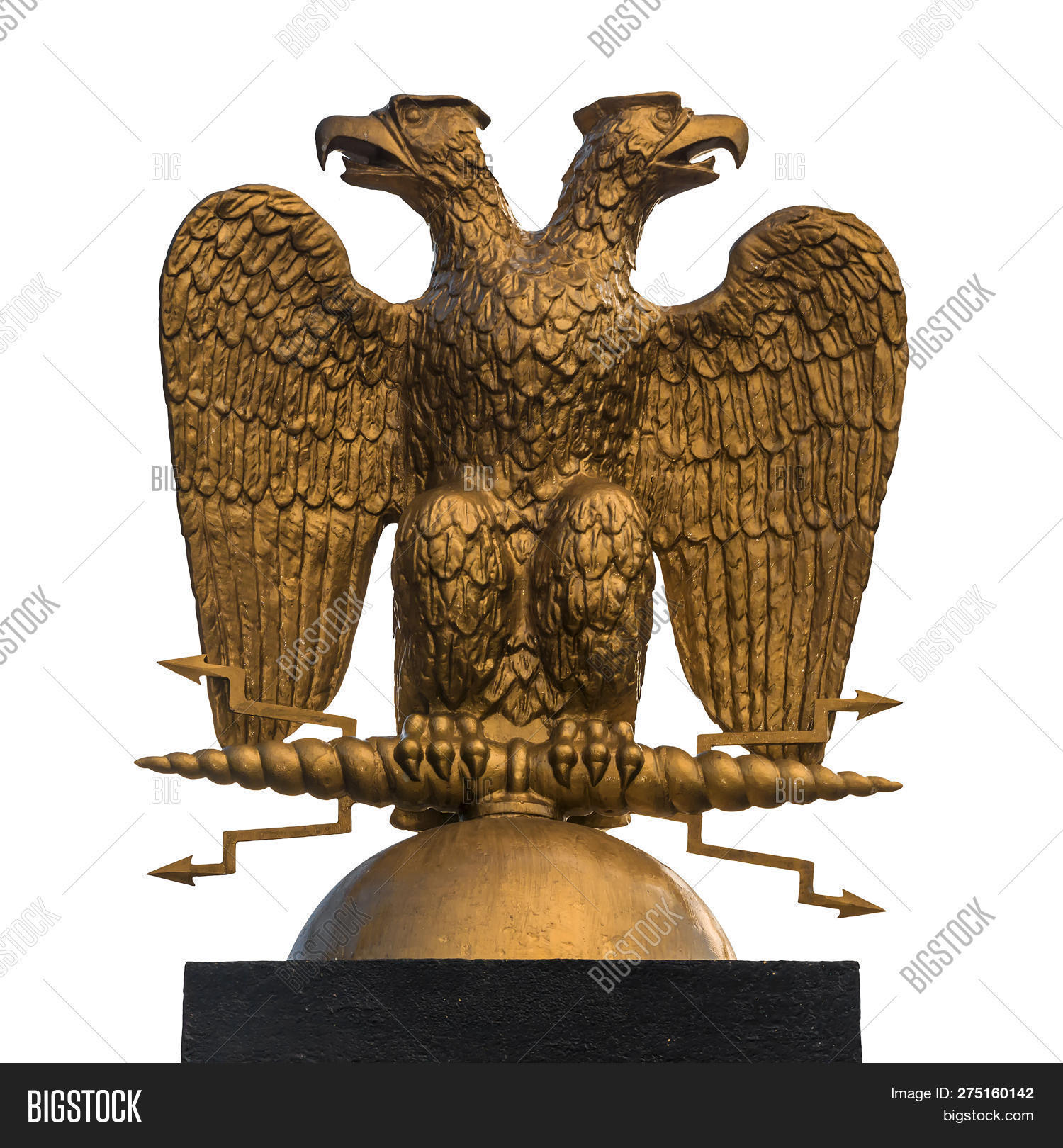Two Headed Eagle Symbol Of The Russian Federation