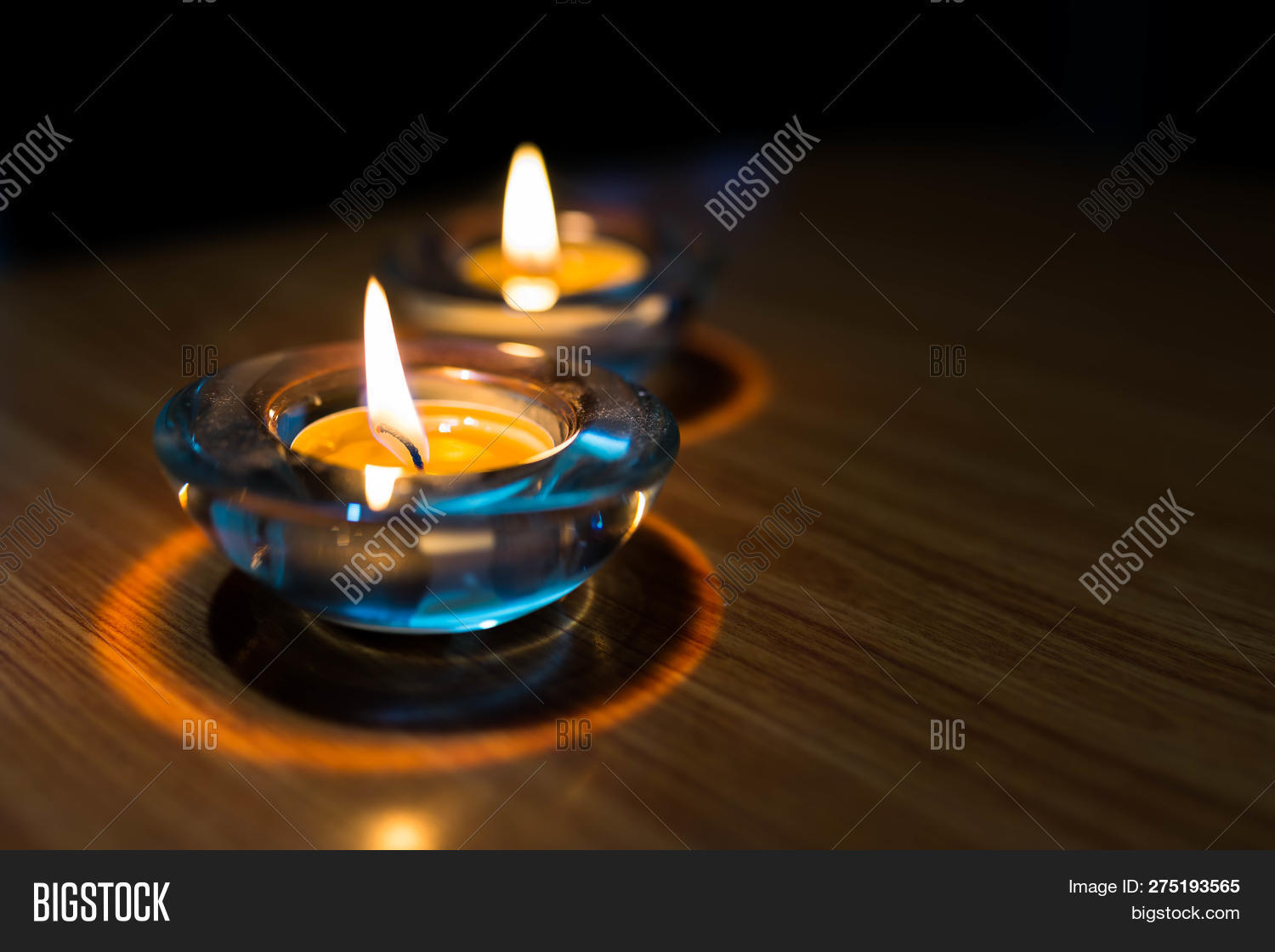 Burning Candle Lights Image & Photo (Free Trial) | Bigstock