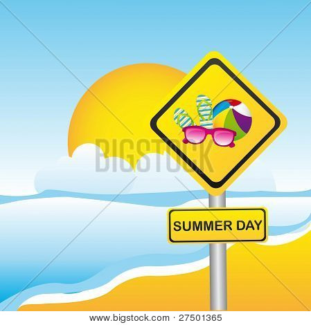 summer sign