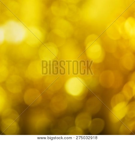 Bright Beautiful Yellow Christmas Background For Advertising Purposes
