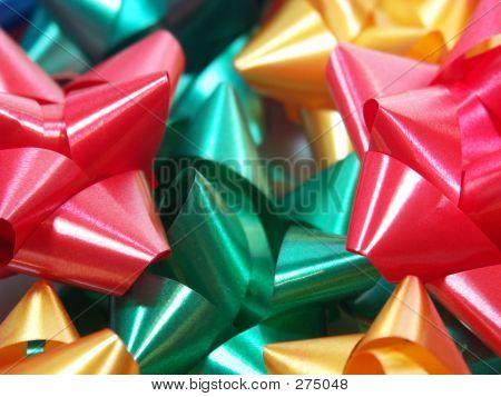 Holiday Bows Close-up