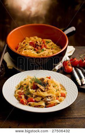 Pasta With Sardines