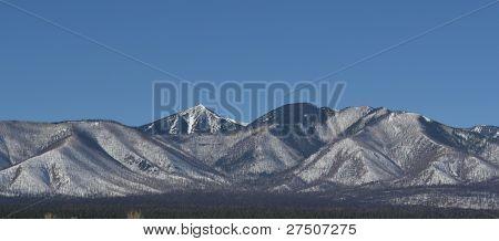 San Francisco peaks in winter