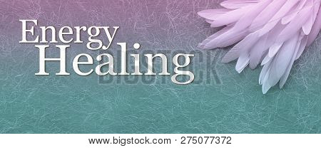 Angelic Energy Healing Banner Head - A Neat Pile Of Long Thin White Feather In The Right Corner Besi