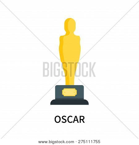 Oscar Icon Isolated On White Background. Oscar Icon Simple Sign. Oscar Icon Trendy And Modern Symbol