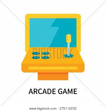 Arcade Game Icon Isolated On White Background. Arcade Game Icon Simple Sign. Arcade Game Icon Trendy