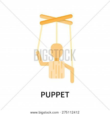 Puppet Icon Isolated On White Background. Puppet Icon Simple Sign. Puppet Icon Trendy And Modern Sym