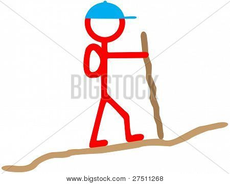 Stickman Hiker