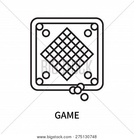 Game Icon Isolated On White Background. Game Icon Simple Sign. Game Icon Trendy And Modern Symbol Fo