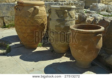 Antique Clay Jars