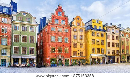 Stortorget (large Square) - The Oldest Square In Stockholm, The Historic Center