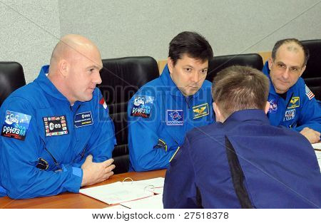 Preflight Class In Baikonur