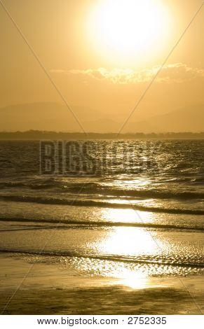 Byron Bay Golden Sunset