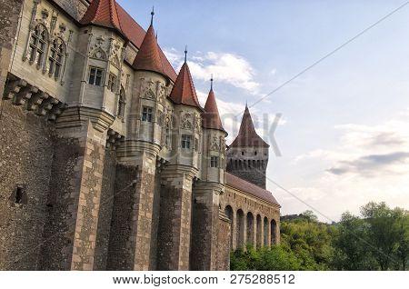 The Corvin Castle (hunyadi Castle Or Hunedoara Castle), Gothic-renaissance Castle, Hunedoara, Romani