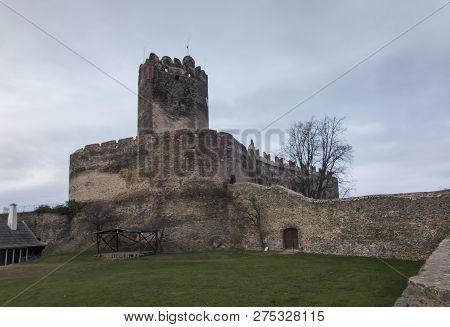 Bolkow, Poland, 6 December 2018: Bolkow Castle In Lower Silesia In Poland In Late Autumn