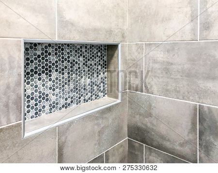 Bathroom wall tiles with grout. Bathroom custom notch. Big tiles installed in my bathroom. Horizontal bathroom tiles. Wall or floor bathroom tiles. bathroom shower base. bathroom tiles.
