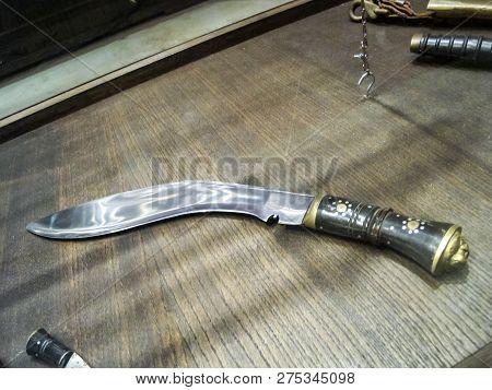 St Petersburg, Russia - June 14, 2018: Museum Of Blade Weapons. Exhibits Of Swords, Swords And Dagge