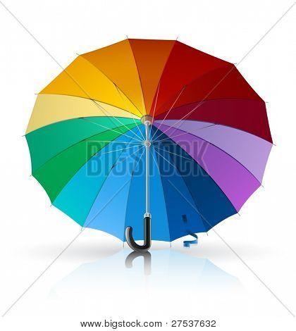 umbrella vector illustration isolated on white background