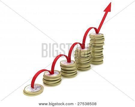 ladder graph of coins