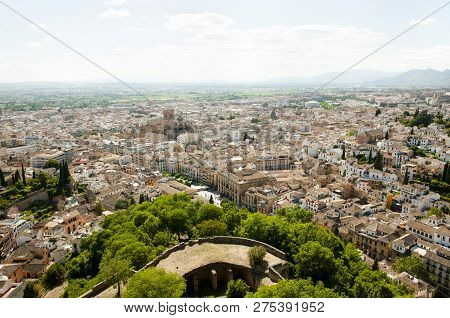 Stone Buildings - Granada City - Spain