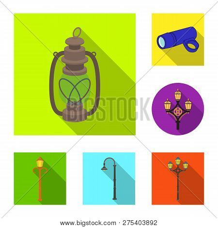 Vector Design Of Moon And Holiday Symbol. Set Of Moon And Ramadan Stock Symbol For Web.