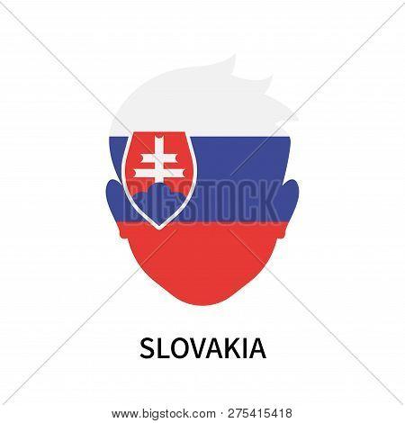 Slovakia Icon Isolated On White Background. Slovakia Icon Simple Sign. Slovakia Icon Trendy And Mode