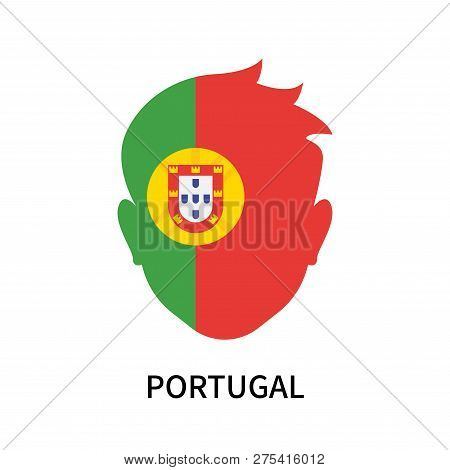 Portugal Icon Isolated On White Background. Portugal Icon Simple Sign. Portugal Icon Trendy And Mode