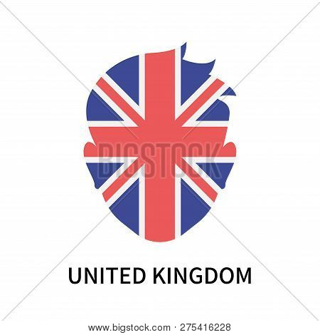 United Kingdom Icon Isolated On White Background. United Kingdom Icon Simple Sign. United Kingdom Ic
