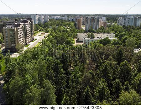 Ecologically Clean Zelenograd Administrative District Of Moscow In Russia