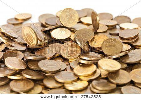Golden Coins Falling
