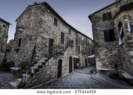 Montemerano, Grosseto, Tuscany, Italy - Small Medieval Village Inmaremma