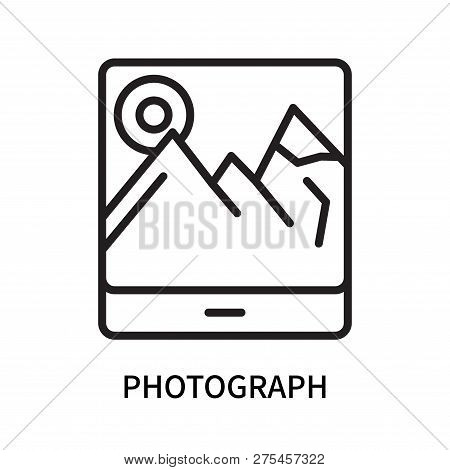 Photograph Icon Isolated On White Background. Photograph Icon Simple Sign. Photograph Icon Trendy An