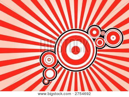 Stylish Circle Background