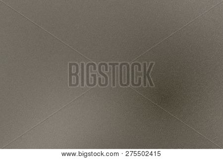 Texture Of Rough Dark Brown Metal Plate, Abstract Background