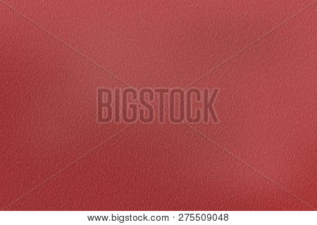 Texture Of Scratches On Red Cardboard, Abstract Background
