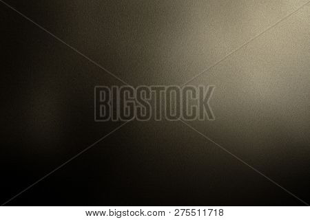 Texture Of Brown Steel In The Dark Background
